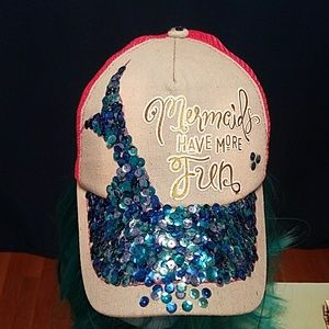 Accessories - Mermaid Trucker snap back hat